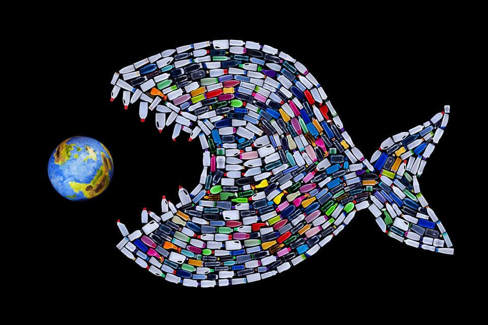 انباشته شدن پسماندهای پلاستیکی در قطب شمال